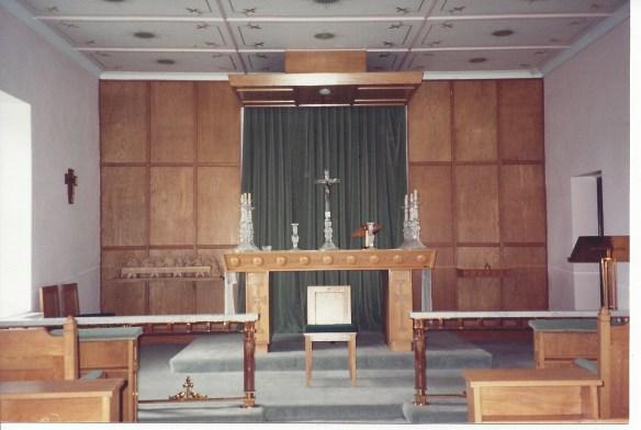 Chapel for Terrance's letter